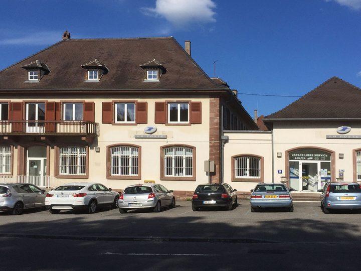 Restructuration des bureaux de poste de Saint Louis (68) et de Wissembourg (67)