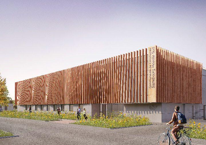 Extension du siège de la Communauté de Communes de Sarrebourg